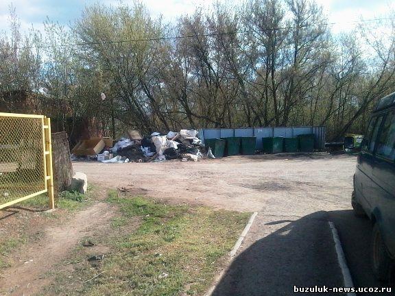 Бузулук остановка двух городских автобусных маршрутов № 1 и 3, на ул. Нефтяников